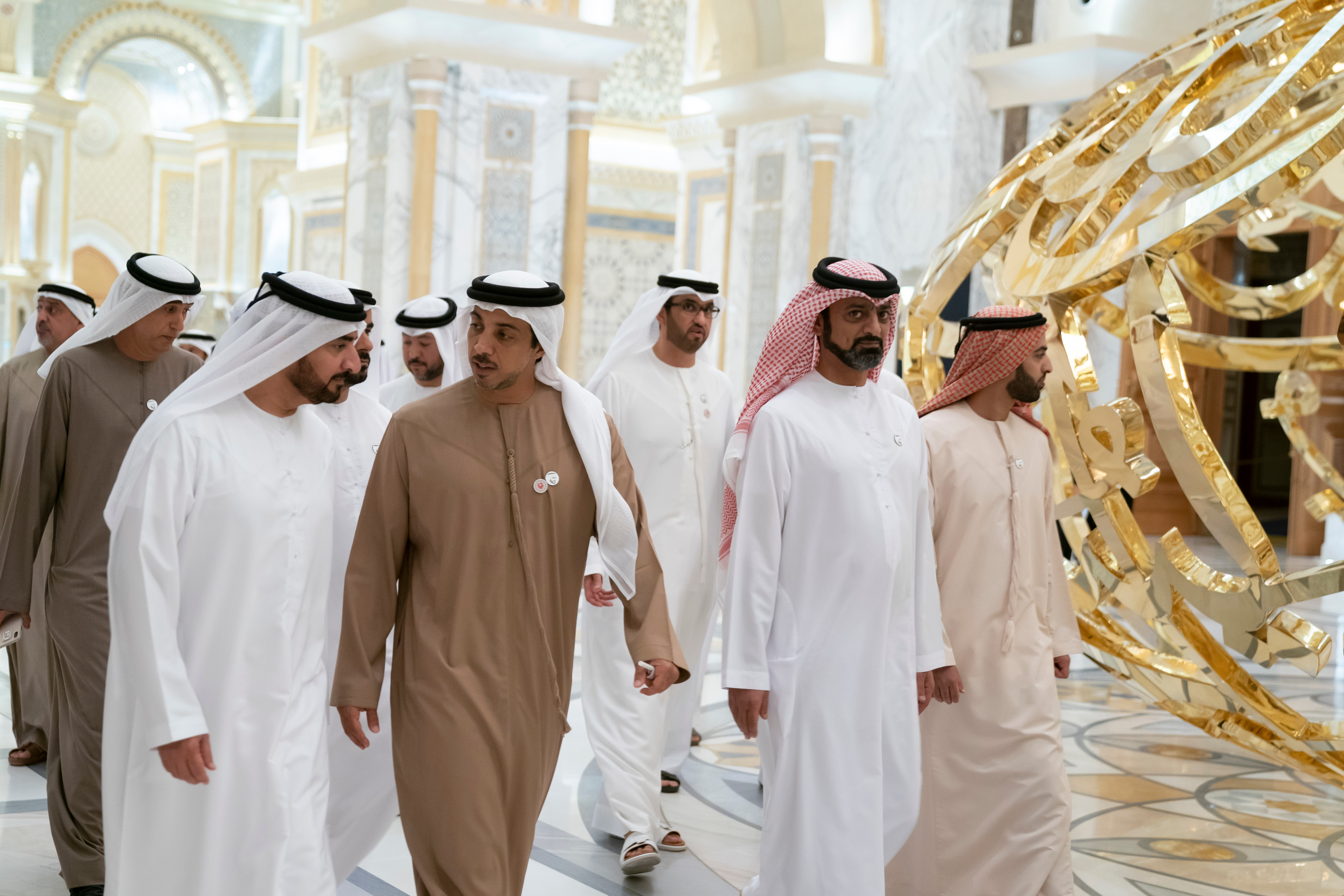 """افتتحنا وأخي محمد بن راشد إلى جانب أولياء العهود """"قصر الوطن"""