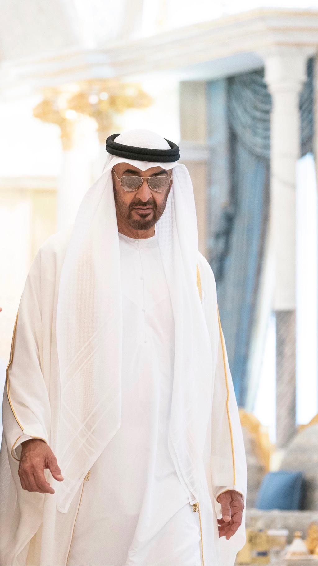 الشيخ محمد بن زايد خلفيات